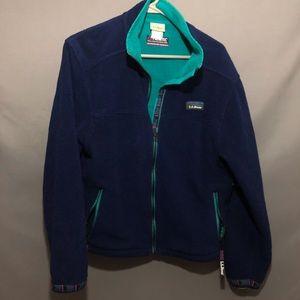 LL Bean Fleece Full Zip Jacket